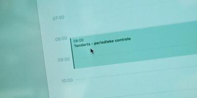 Tandarts - online afspraak