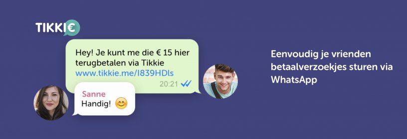 Tikkie.me, geld terugvragen via Smartphone
