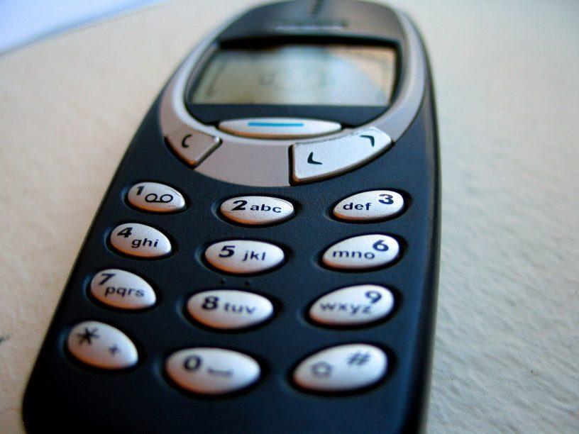 Mijn eerste telefoon, Nokia 3310