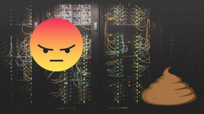 Servers in een datacenter