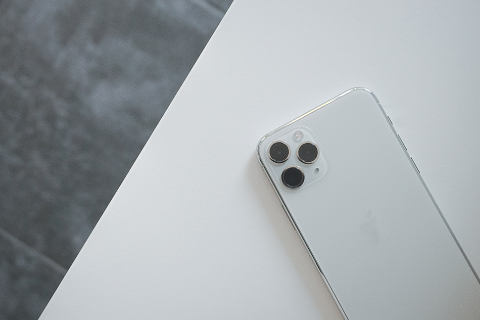 iPhone 11 pro op tafel