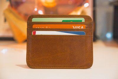 portemonnee met bankpasjes